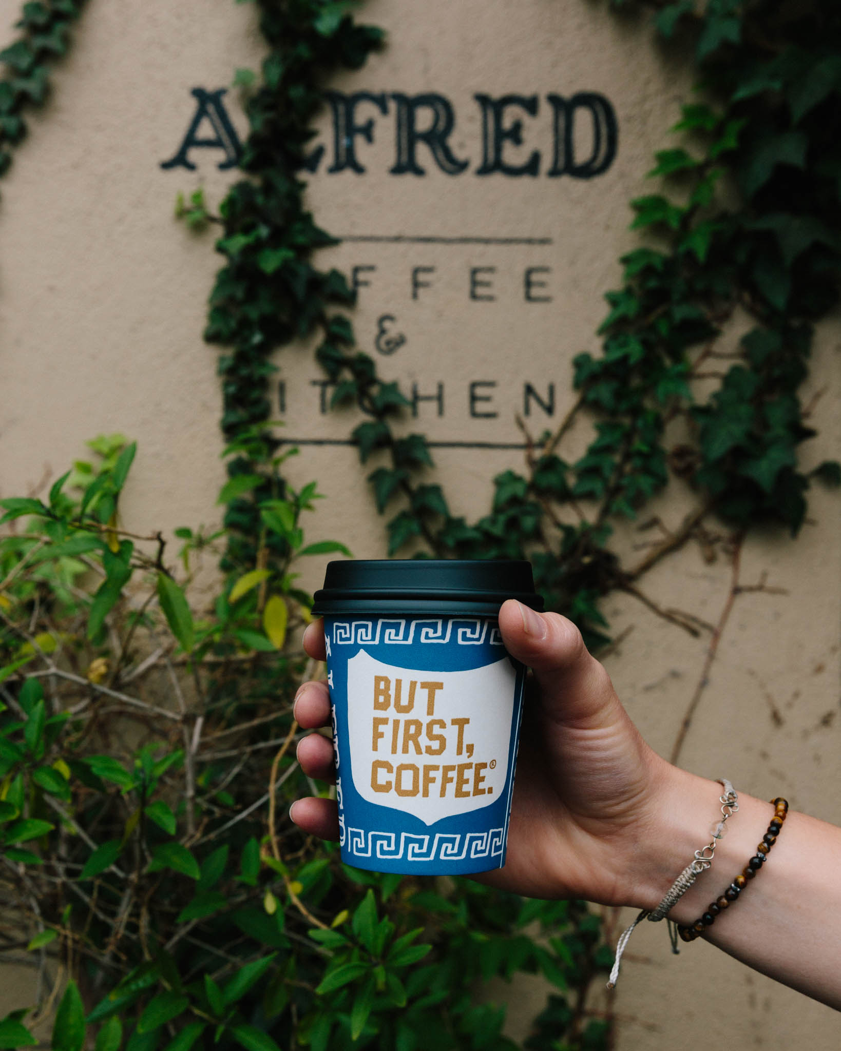 Alfred Coffee, Melrose Ave