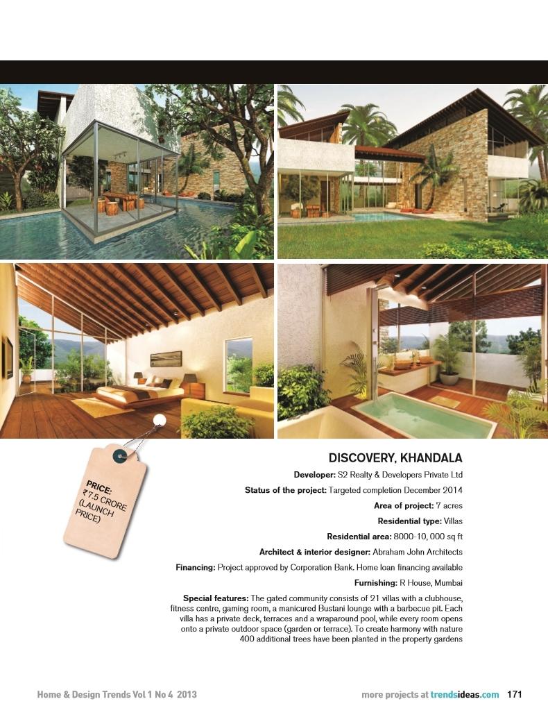 Home & Design Trends, Sept 2013