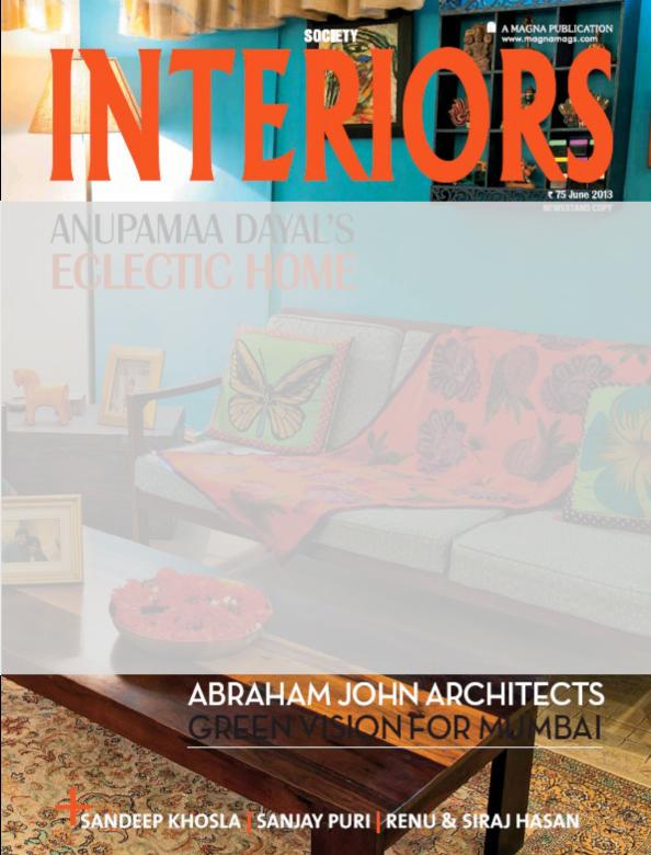 Society Interiors , June 2013.