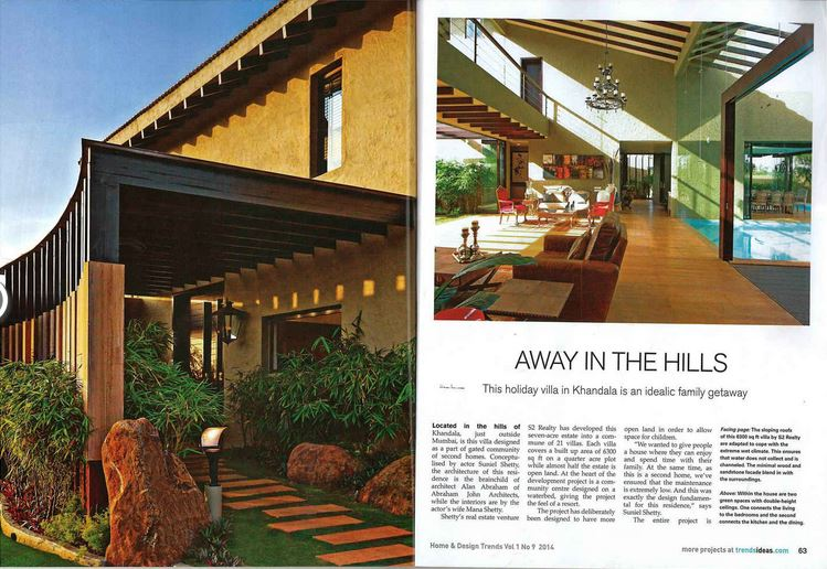 Home and Design Trends - Away in the Hills Vol. 1, No.9