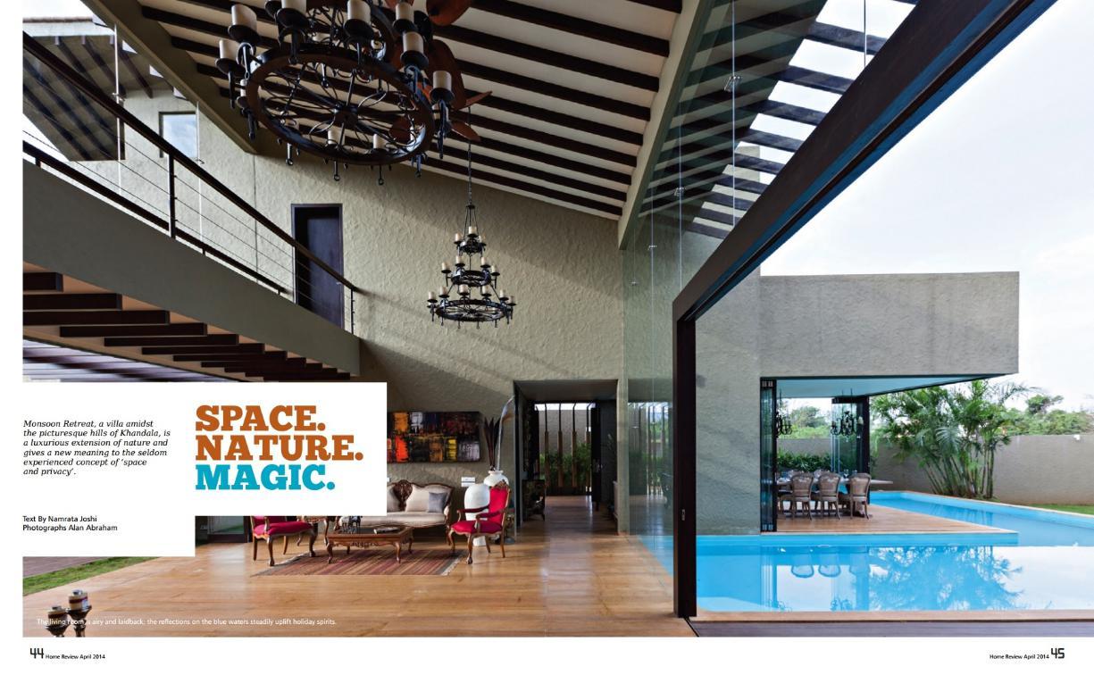 Home Review – Space Nature Magic April 2014