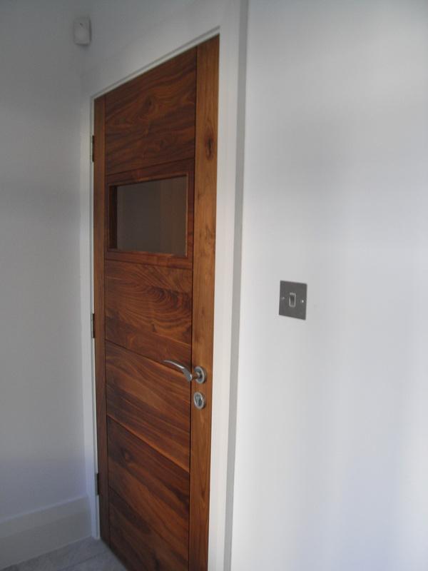 Interior door with glazed panel.JPG