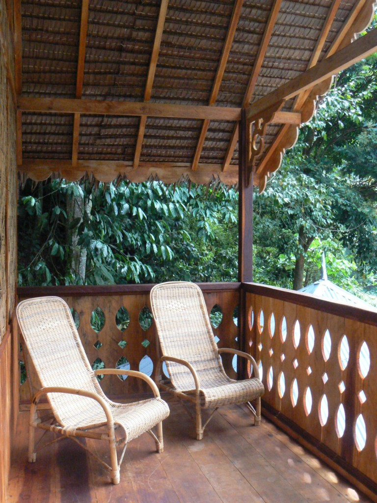 BALCONY of TREETOP CHALET