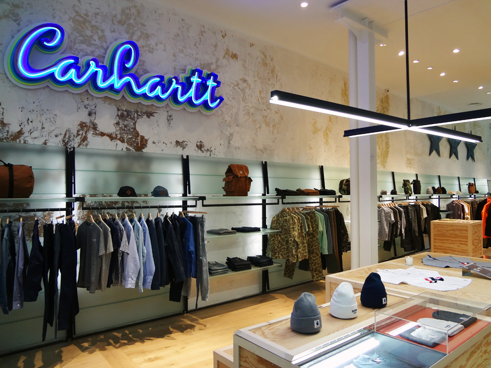 Carhartt WIP -  le Marais (Picture courtesy of Carhartt WIP)
