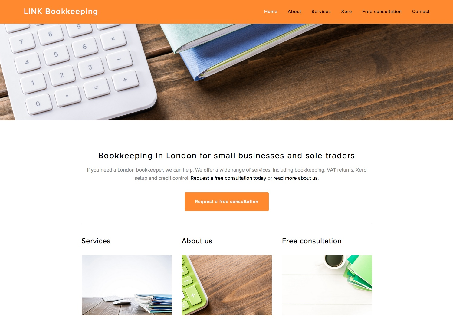 Link Bookkeeping