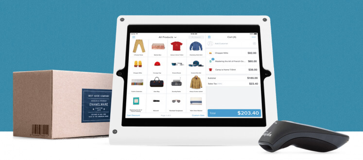 Shopify point-of-sale kit