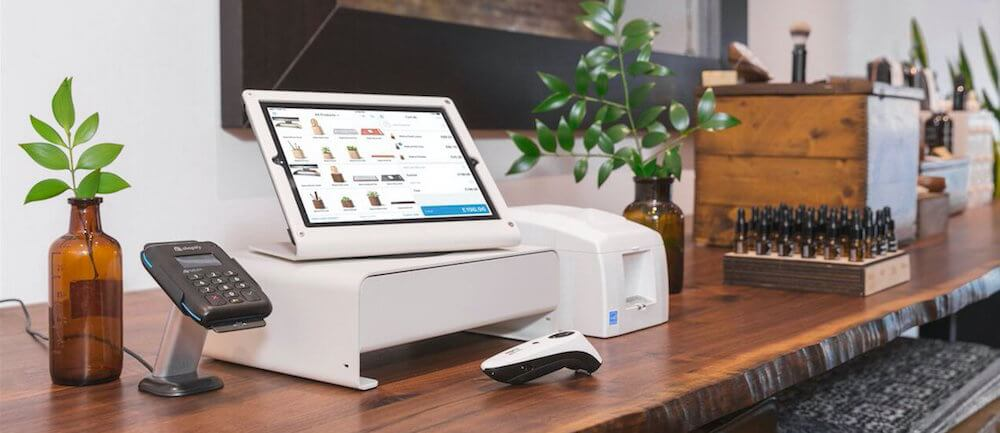 Shopify's point of sale hardware