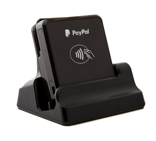 Ecwid's chip and tap card reader for POS applications.