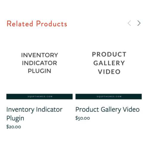 Squarespace related posts and products plugin