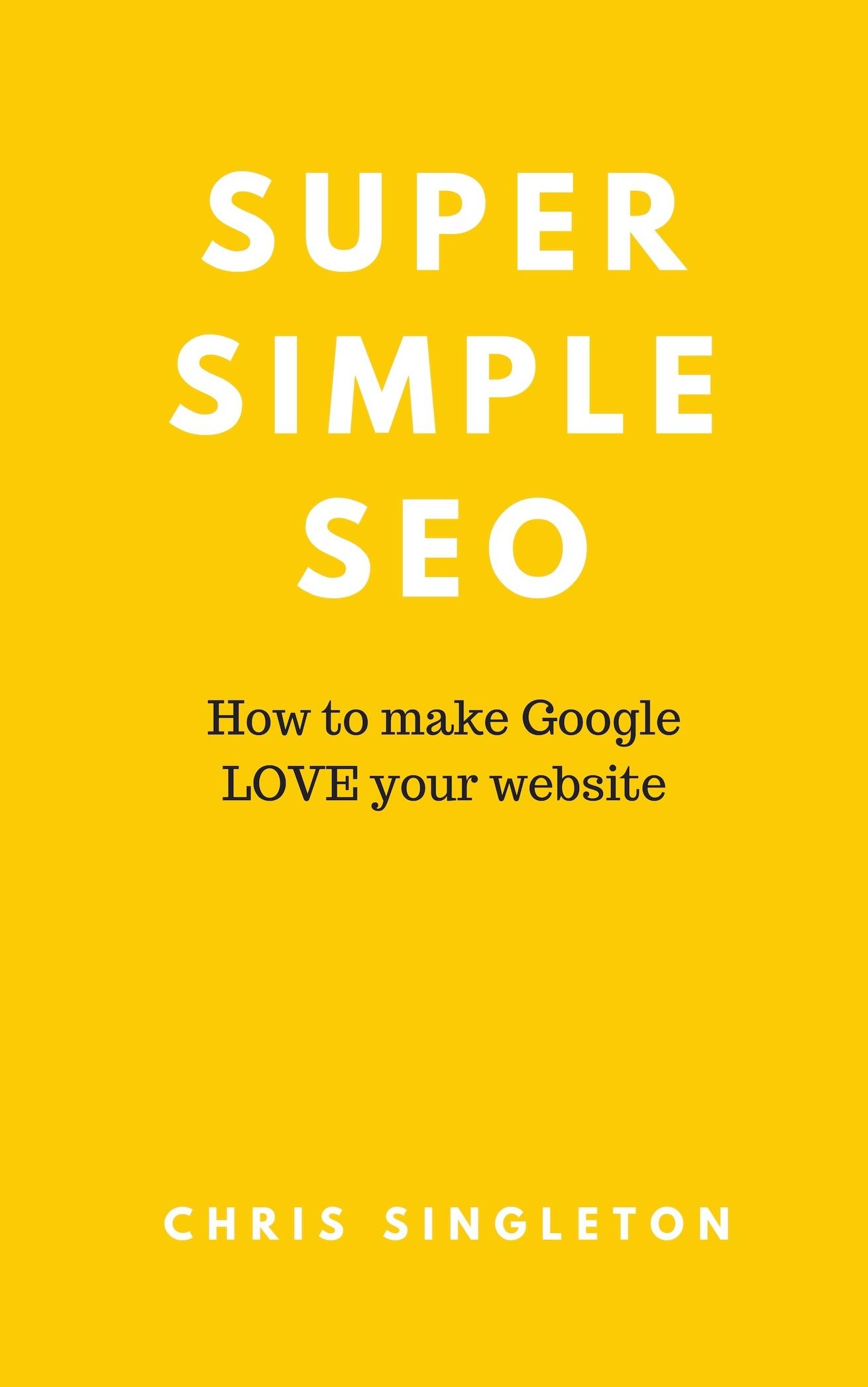 Super Simple SEO e-book