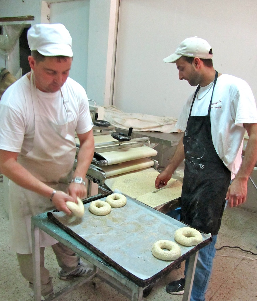 Bakers in action