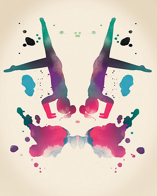 Not sure about the headstand yet, but I like the thing that looks like a butterfly! Image by  Lululemon Athletica