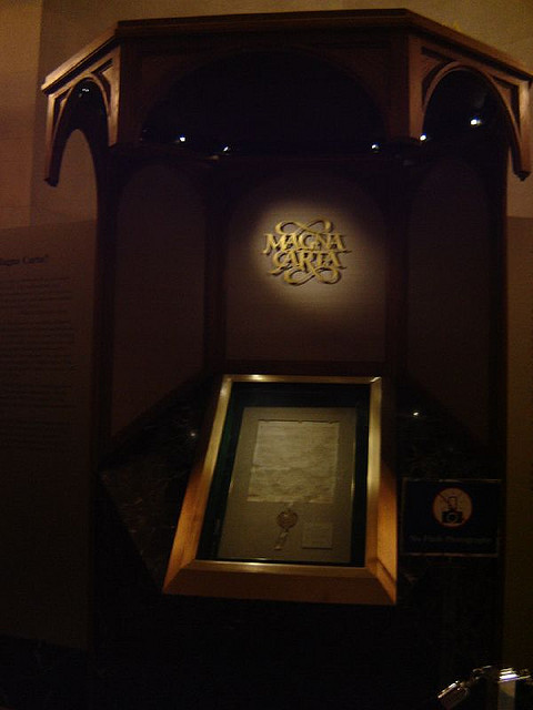 Magna Carta - a magnificent document   Image by  Angela M. O.
