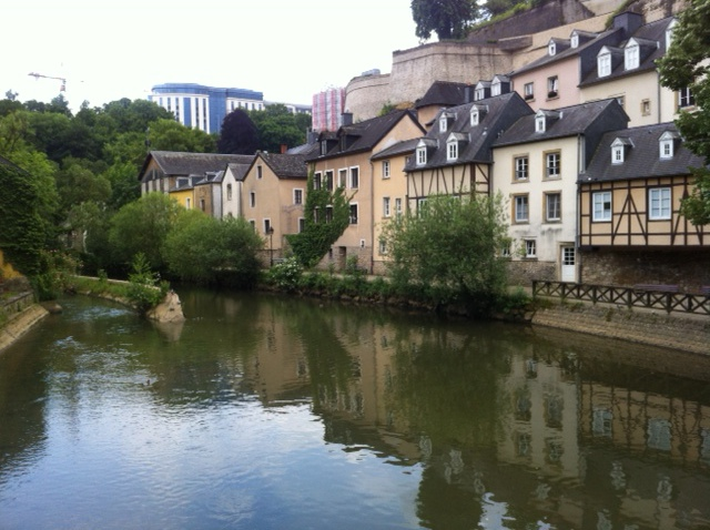 Grund area of Luxembourg