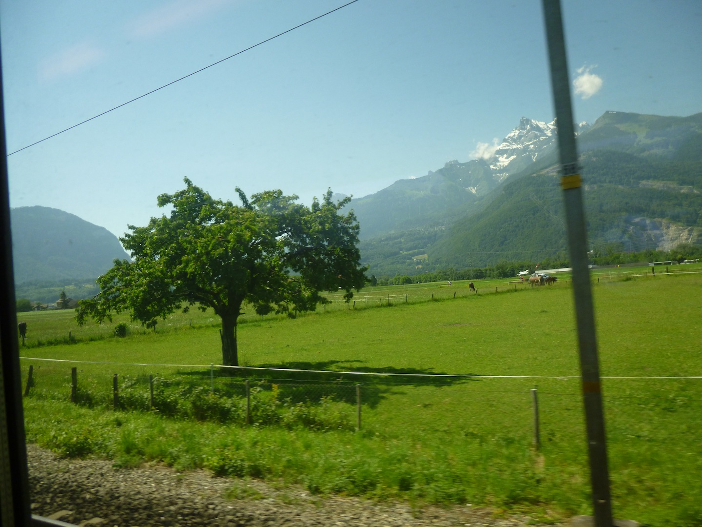 Somewhere between Montreux and Brig, Switzerland