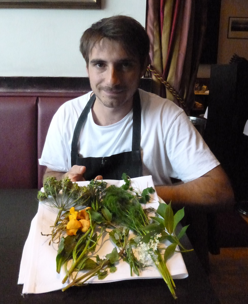 Chris Caralambous, chef and keen forager