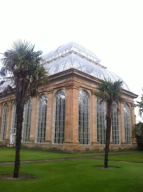 Greenhouse in Edinburgh Botanical Gardens
