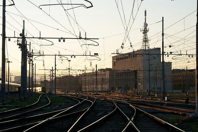 Rome rail hinterland  Image by  Il Grillo