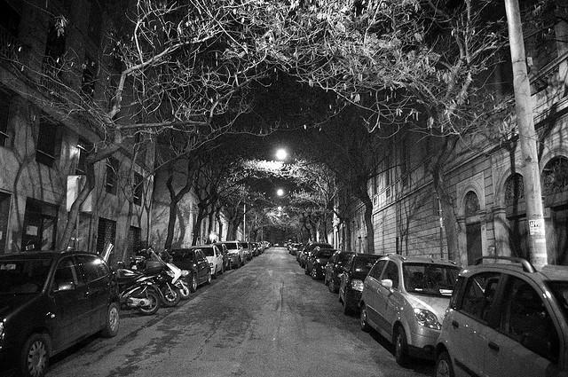 Neighbourhood street in Rome  Image by  Mark Turner