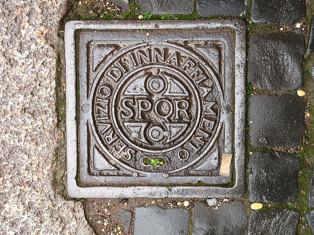 How bling can you go on a drain cover? Very much so it seems!   Image by  Joanna Penn