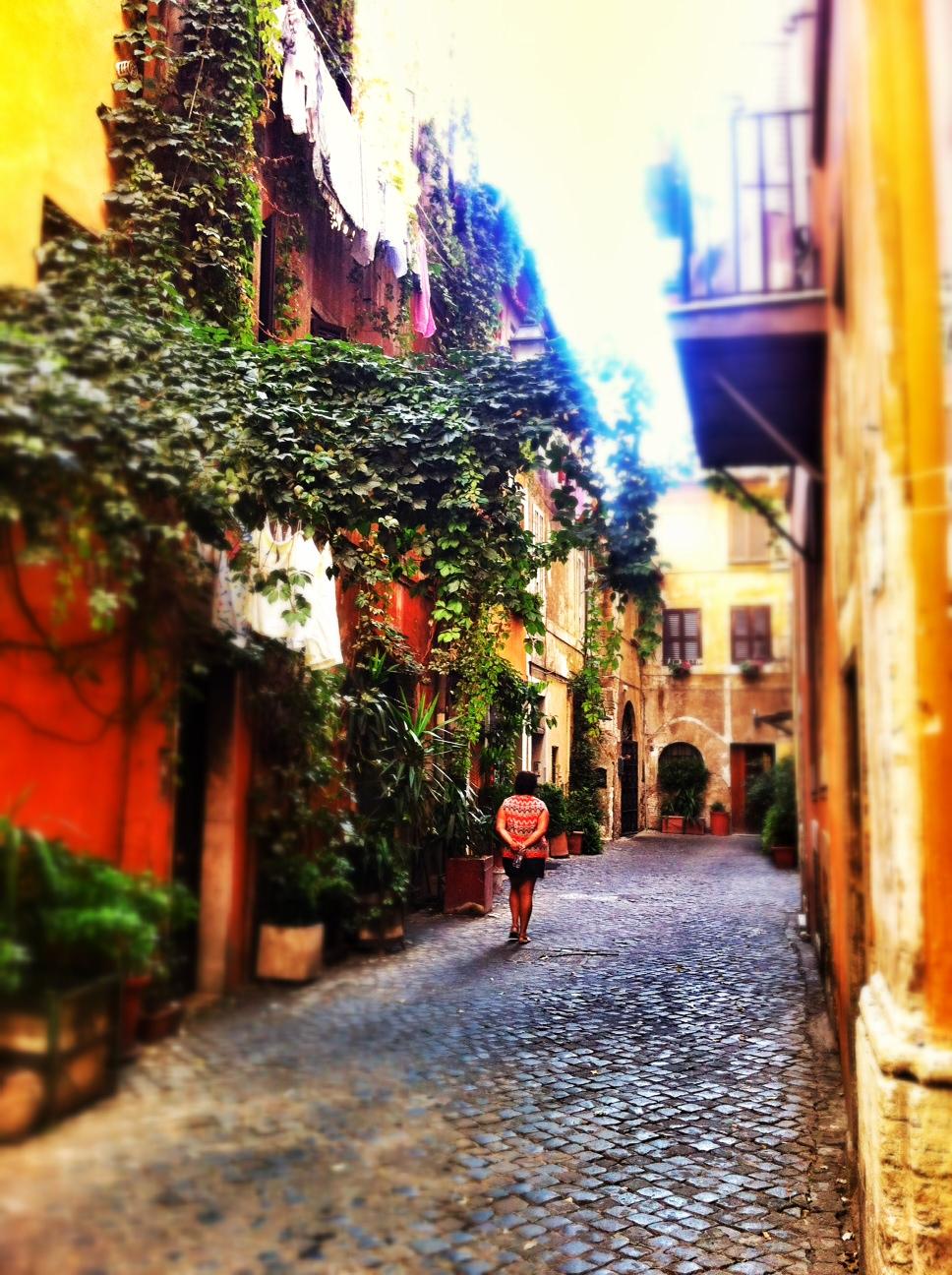 Trastevere street-scape