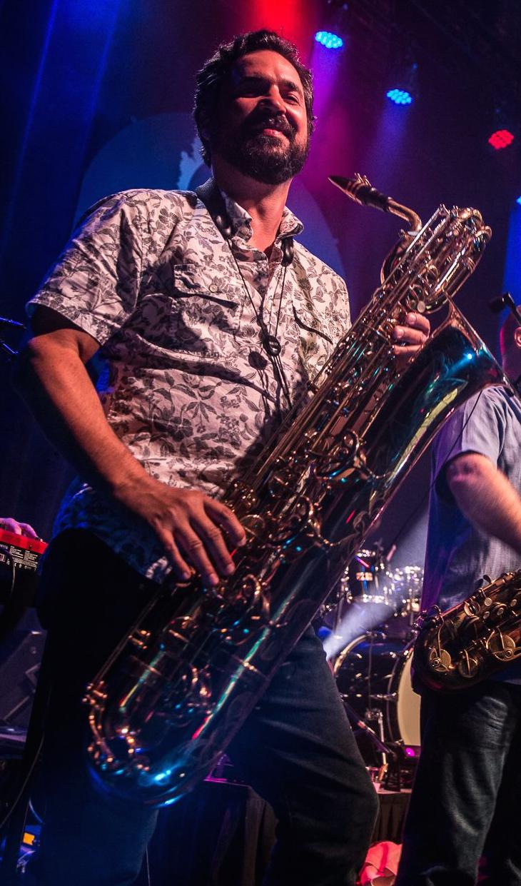 Gary - Bari Saxophone