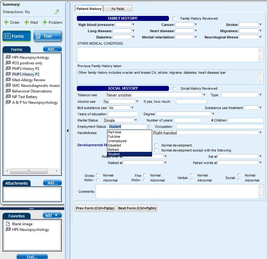Neuropsych EMR Screen Shot #4 (Fam & Soc Hx).png