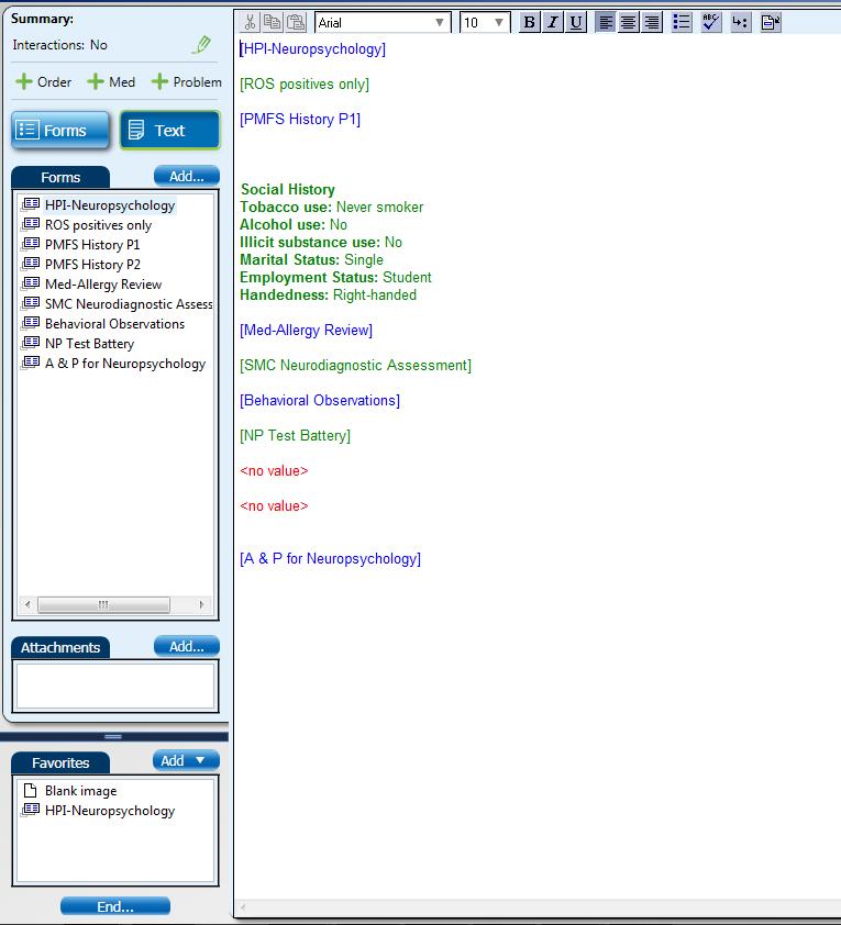 Neuropsych EMR Screen Shot #9 (Text View).png