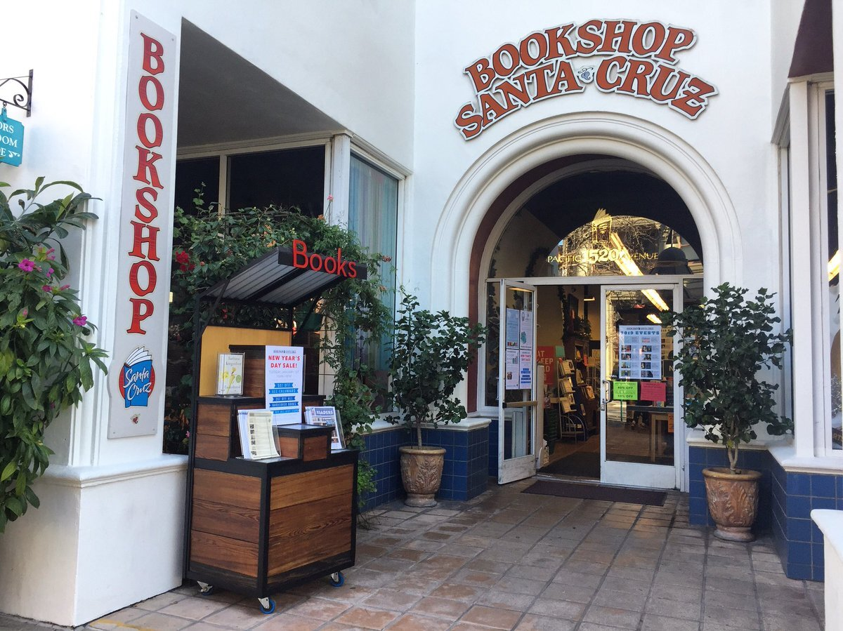 Bookshop Santa Cruz in downtown Santa Cruz