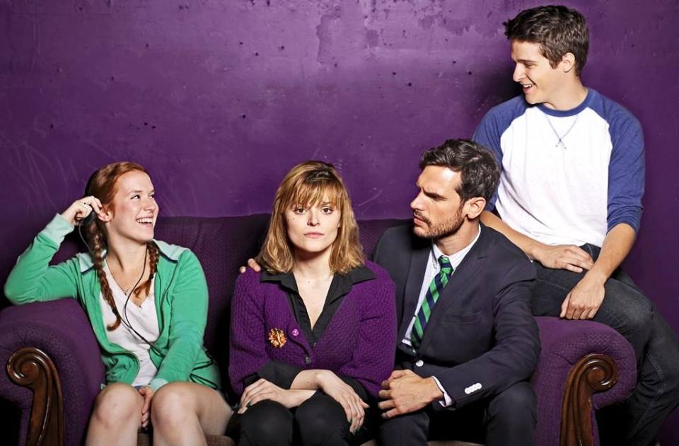 Lindsay Bayer, Carman Napier, Chris Caron, and Luke Hobak Photo by Danny Bristol
