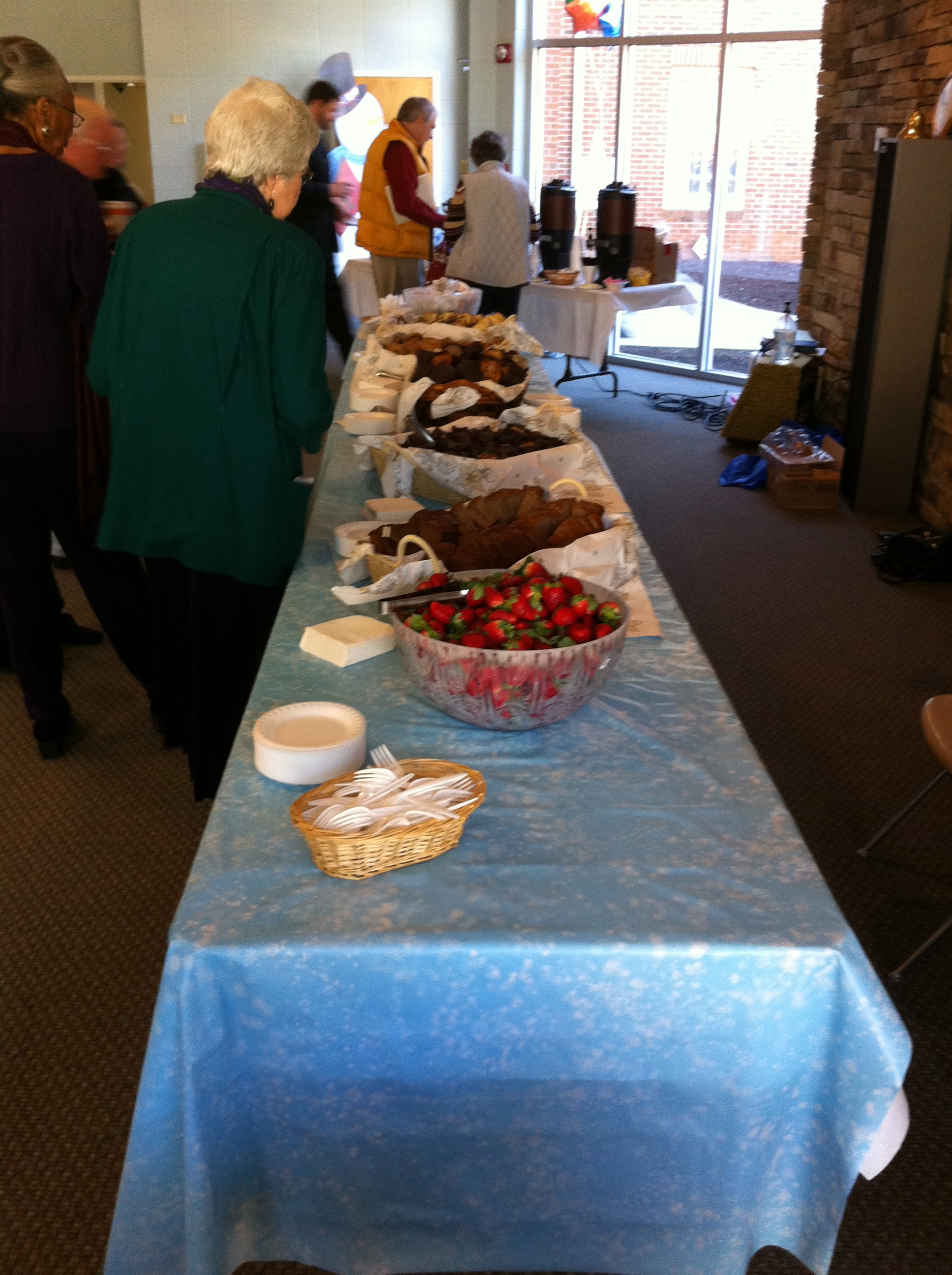 Food Catered by Talmadge Terrace
