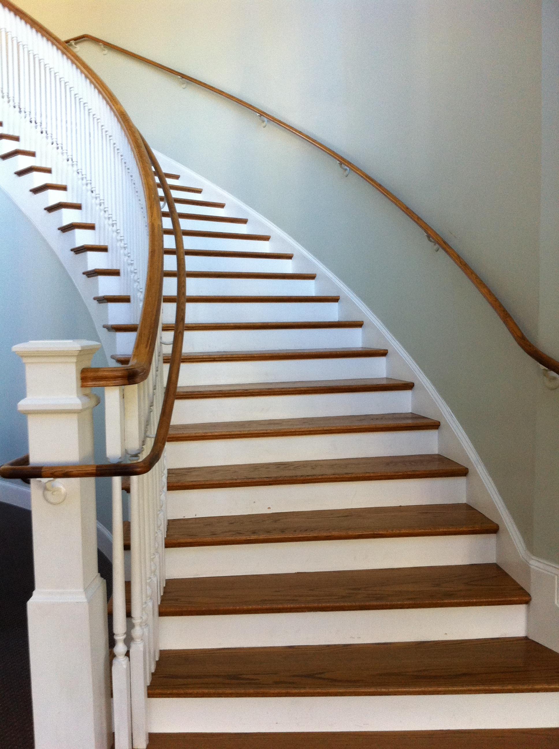 Beautiful staircase leading into the gathering area. Great for pictures!!