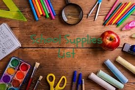 Click Here For A List of School Supplies for Alps Road Elementary and Clarke Middle School