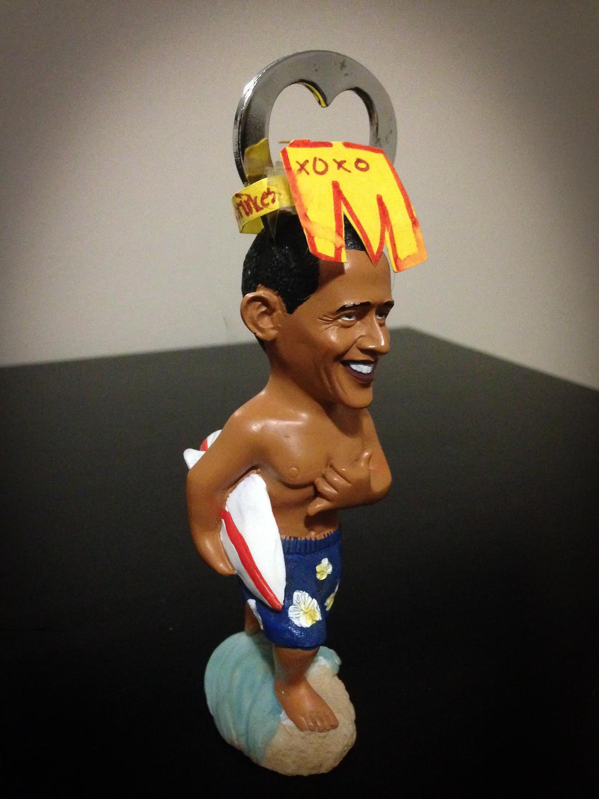 Surfing Obama - 129/365