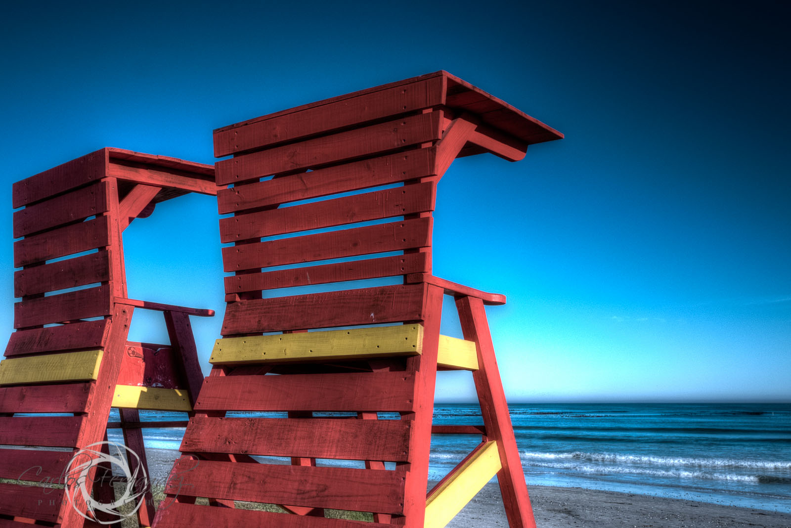 Lifeguard Stands at Melkbosstrand - 142/365