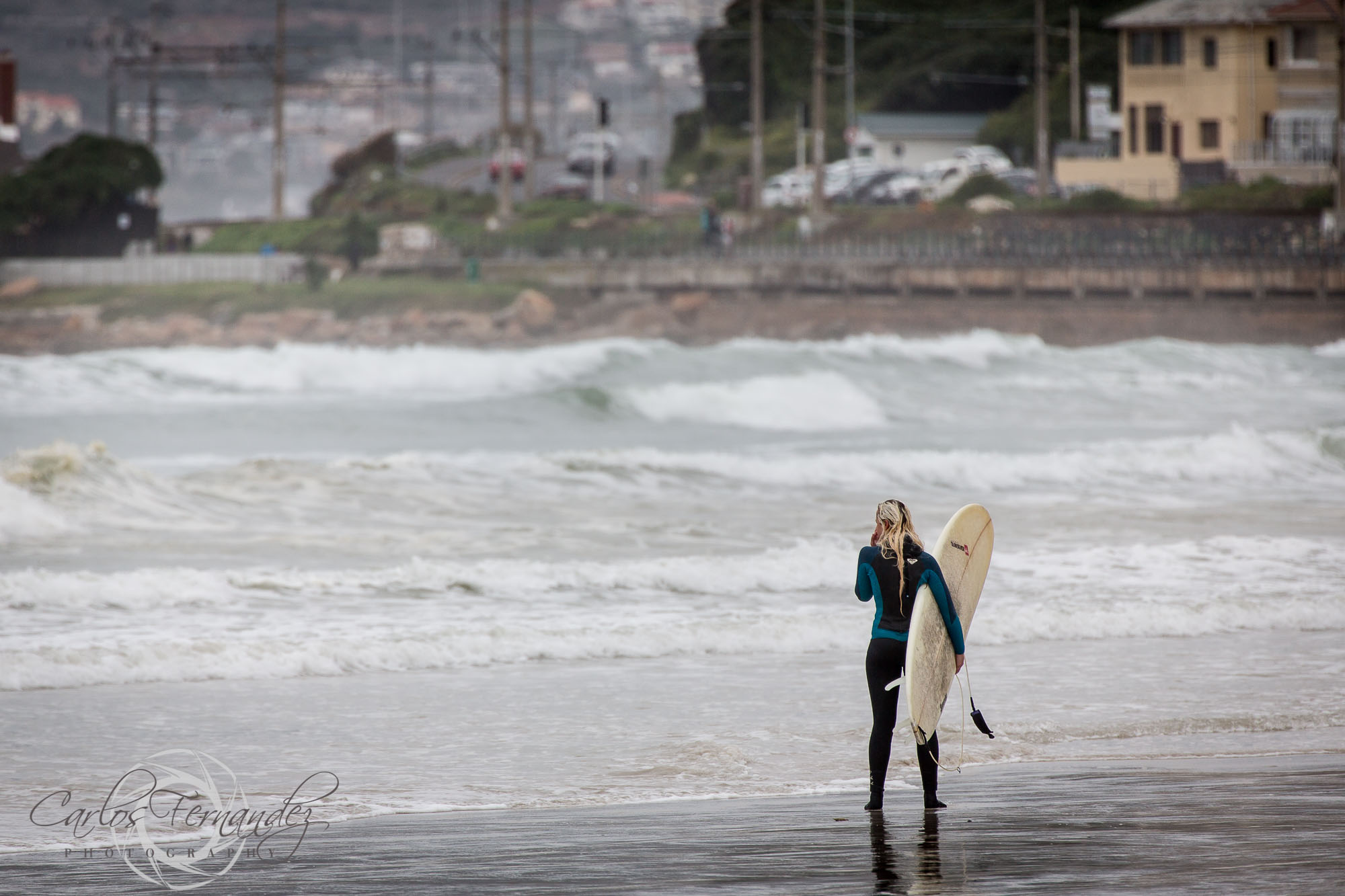 Checking Out the Surf in Muizenberg - 201/365