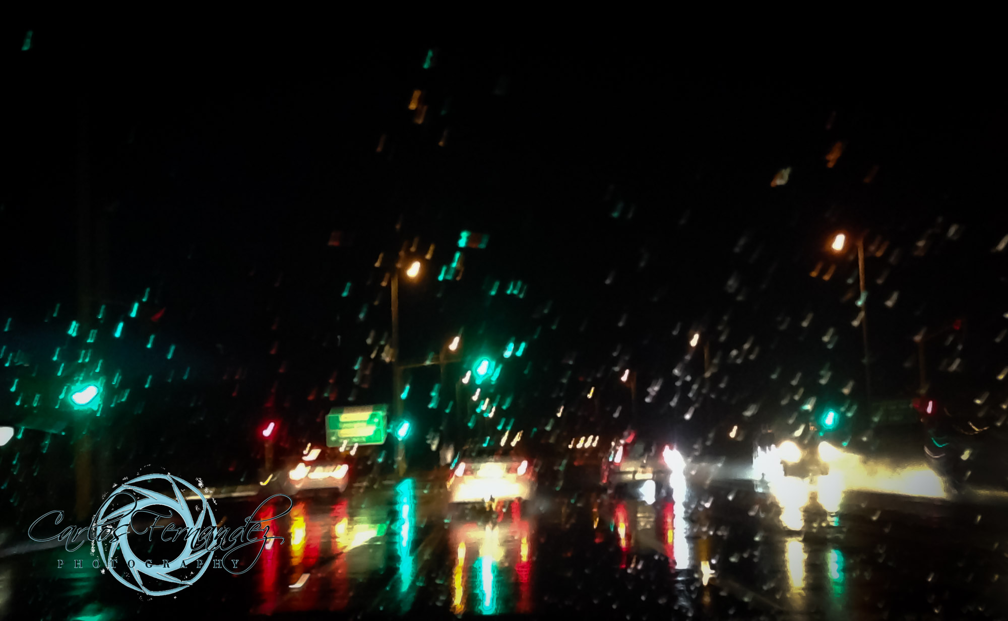 Rainy Night in Cape Town - 232/365