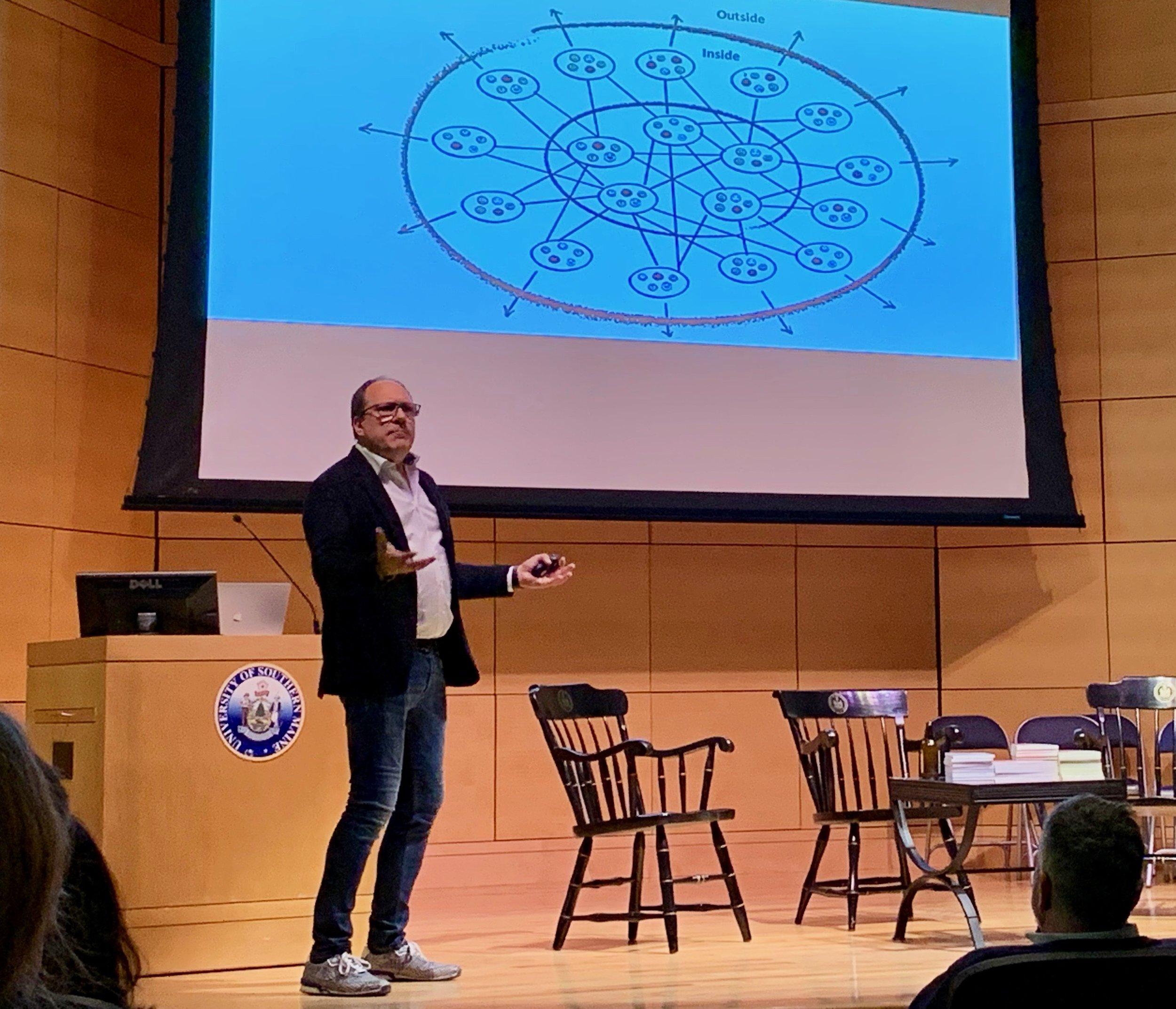 Niels Pfaeging at Agile Maine
