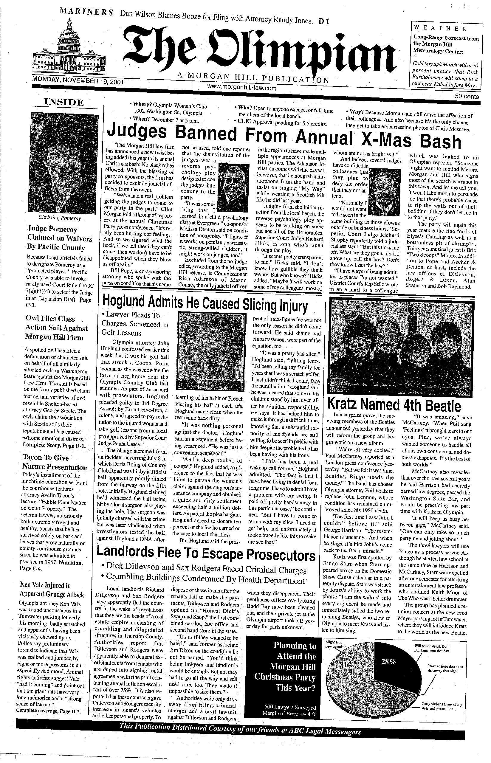 Issue 2001