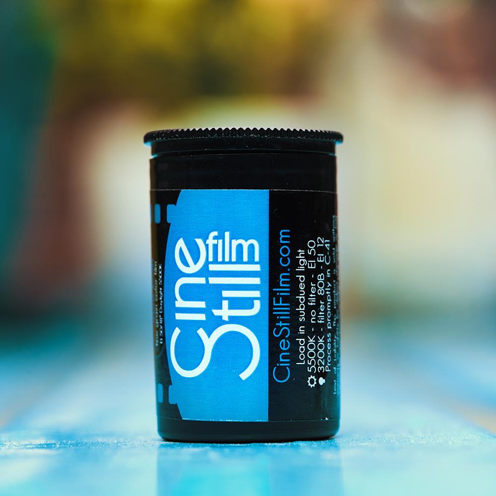 CineStill Film 50Daylight Xpro C-41 Can