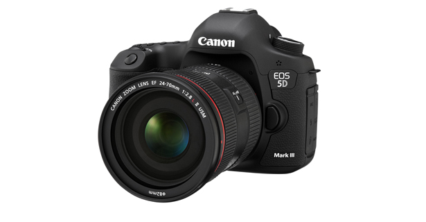 Canon 5D Mark III  Image:  Canon