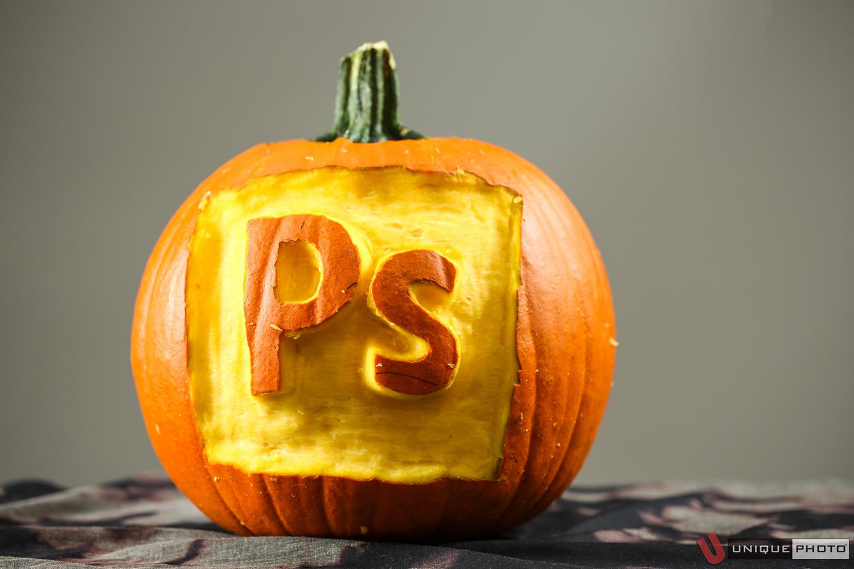 Adobe Photoshop pumpkin by Nick Andriuolo.