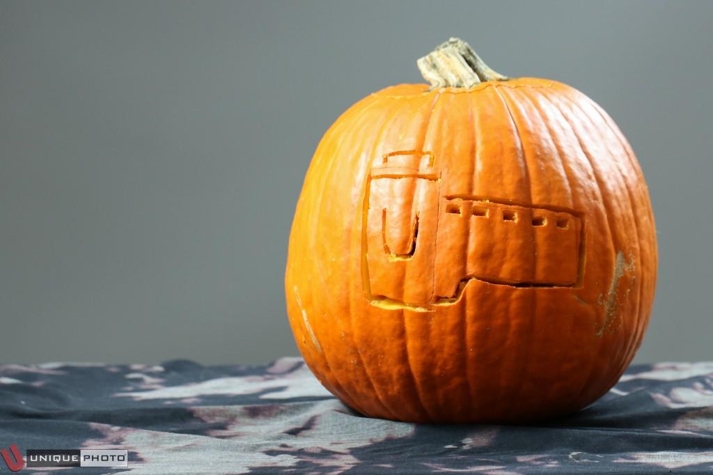Film Roll pumpkin by Jayme Vieira