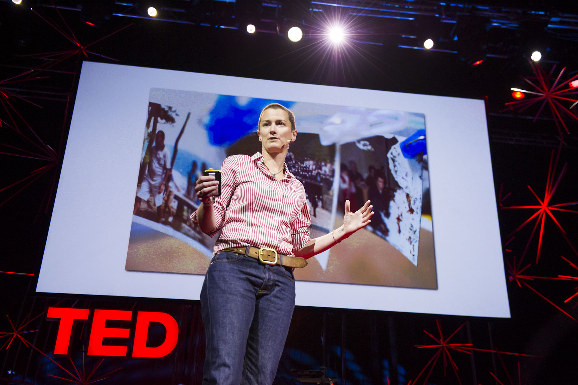 Becci Manson talks at the TED Conference.