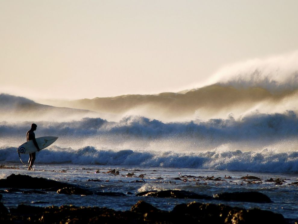 Surfer, South Africa. Photograph by Anne du Plessis, My Shot (via National Geographic)