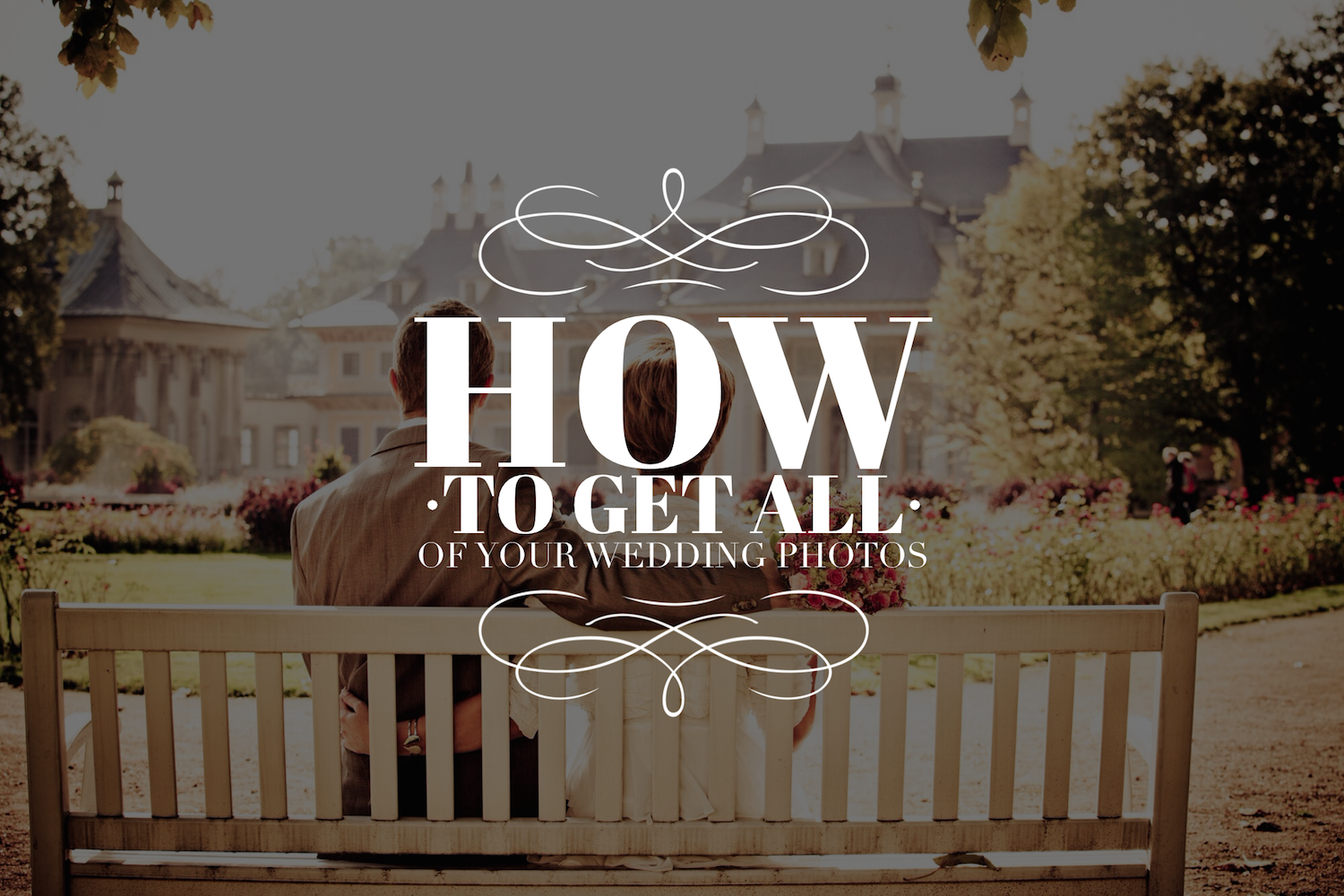 How to get ALL of your wedding photos, by Dan Schenker