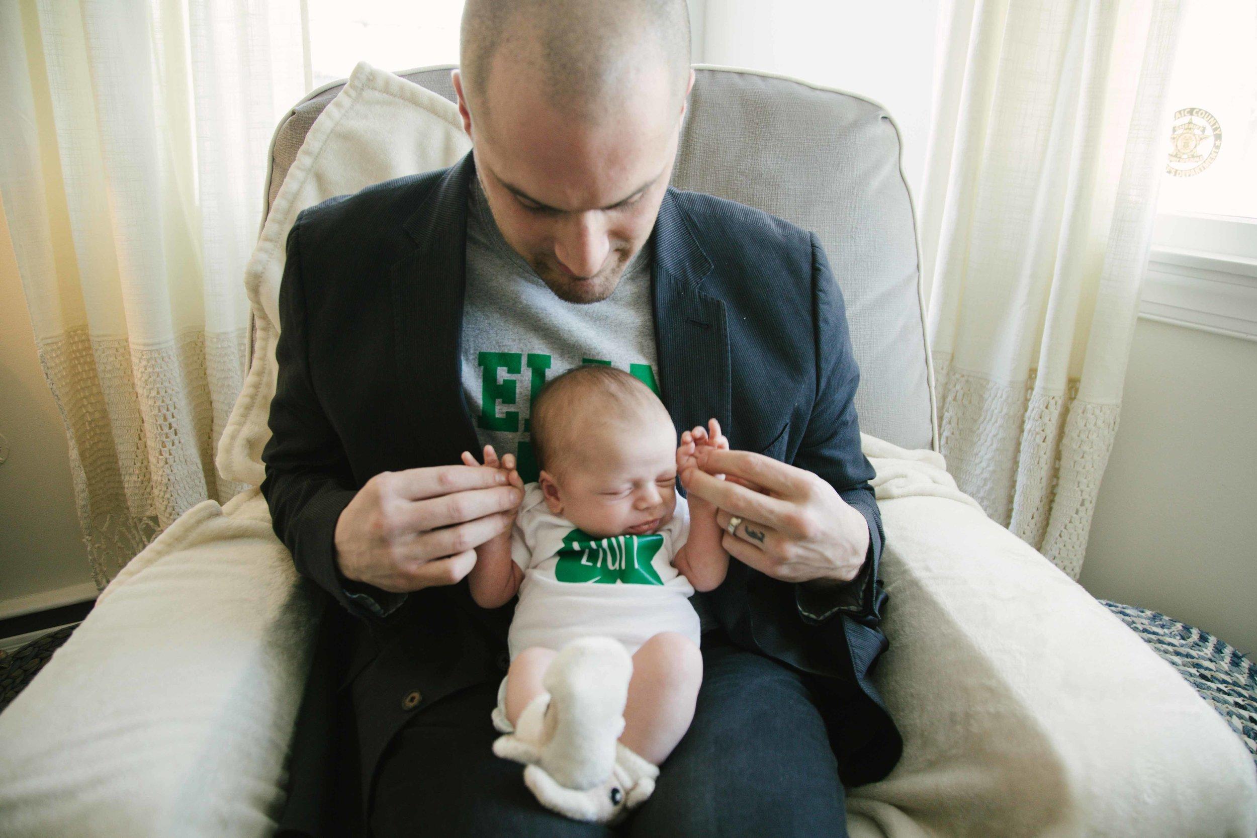 Wayne NJ newborn photo by Dan Schenker