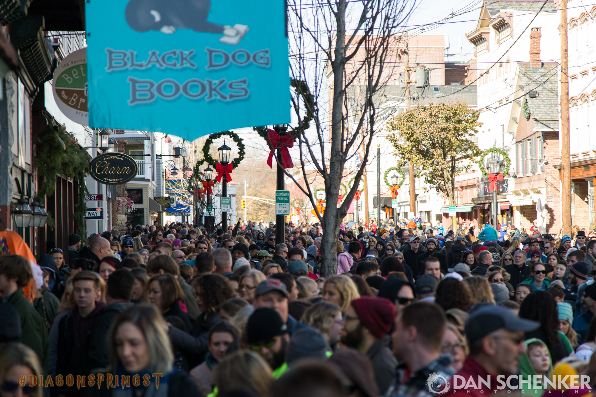 Newton, NJ saw an estimated 35,000 attendees at its Harry Potter-inspired takeover of its downtown shopping district.