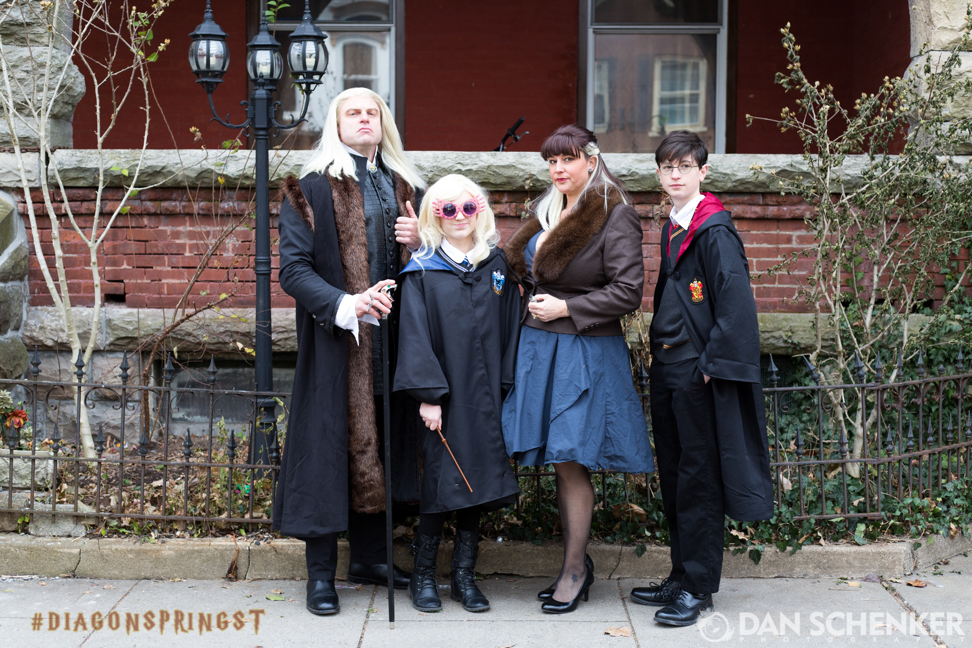 Lucius, Luna,Narcissa, and Mr. Potter, you were a pleasure to meet today. I hope you were able to make time to have some lunch!