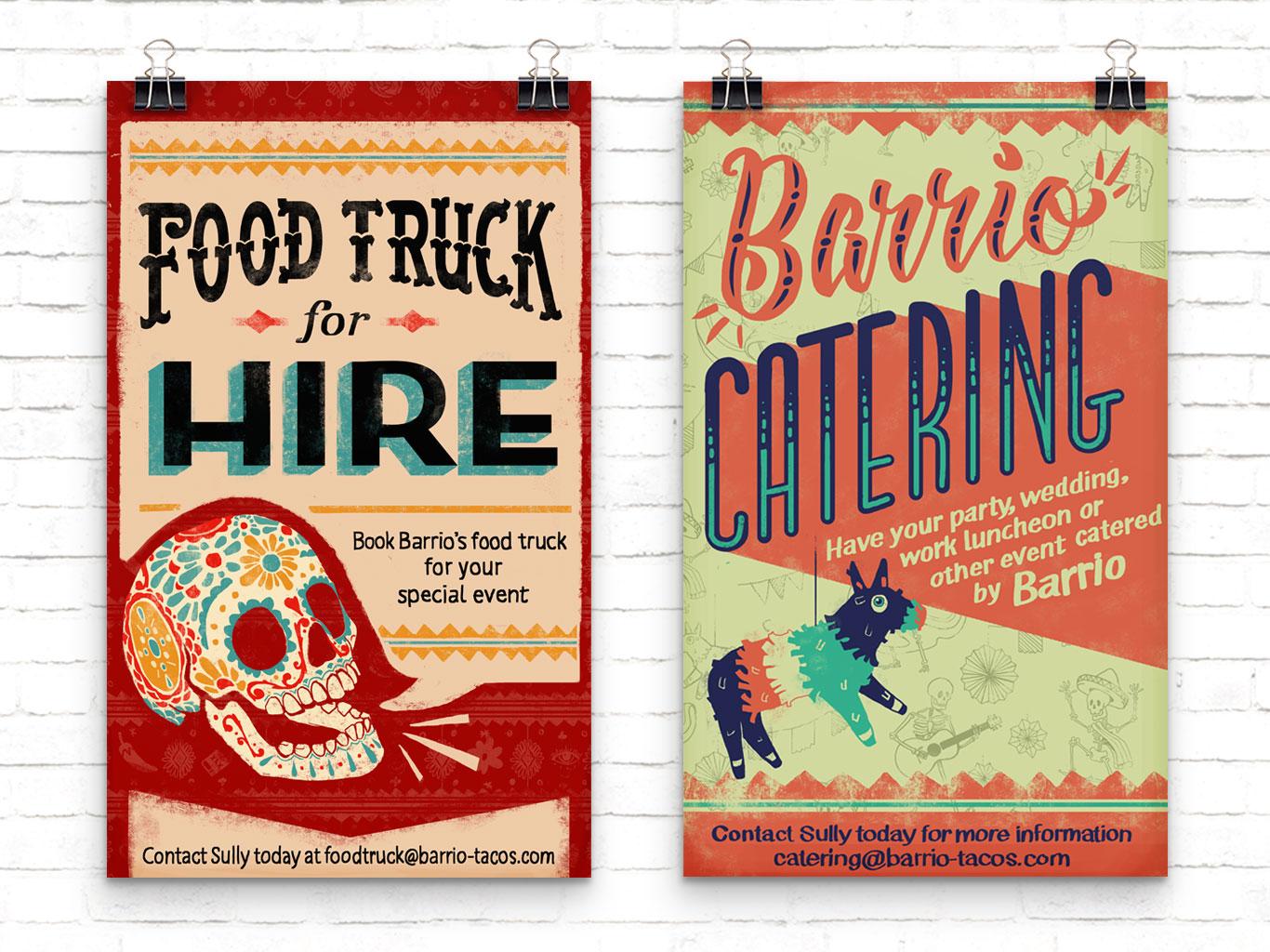 Barrio - branding, poster design